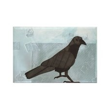 Raven Rectangle Magnet