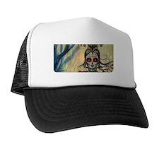 Drummer Girl eyeglass case Trucker Hat