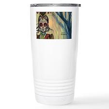 Drummer Girl coin case  Travel Mug