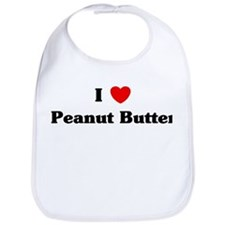 I love Peanut Butter Bib