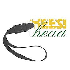 Cheese Head Luggage Tag