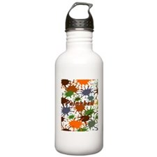 Fun Paintball Splatter Water Bottle
