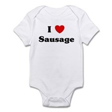 I love Sausage Infant Bodysuit