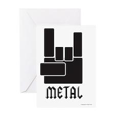 metal_shirt-01 Greeting Card
