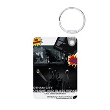 Gotham City Glass Repair Keychains