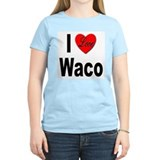 I Love Waco (Front) T-Shirt