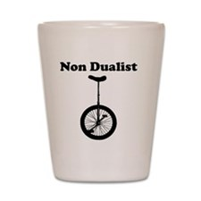 Non Dualist Unicycle Light Shot Glass