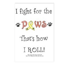 I fight for the PAWS Postcards (Package of 8)
