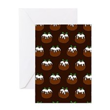 'Puddings' Greeting Card