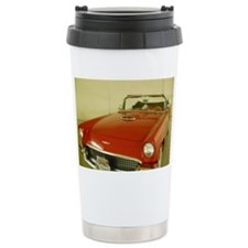 Red 1957 Ford Thunderbi Travel Mug