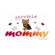yorkie Wall Decal