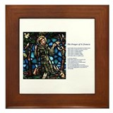 St Francis Peace Prayer Framed Tile