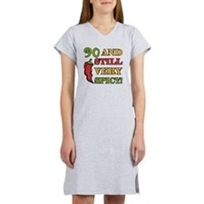 Spicy At 90 Years Old Women's Nightshirt