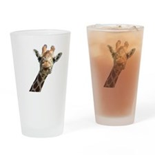 Moo Giraffe Goat Drinking Glass