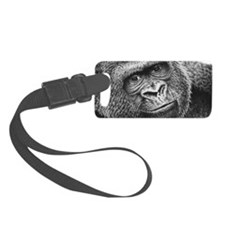 Gorilla Wall Decal Luggage Tag
