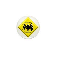 Madrigal Crossing Mini Button