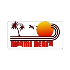 Miami Beach Florida Aluminum License Plate
