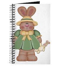 Girl Little Bunny Journal