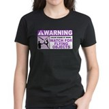 Flying Objects, Purple Tee