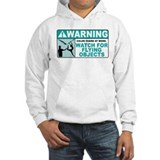 Flying Objects, Teal Jumper Hoody