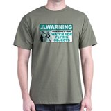 Flying Objects, Teal T-Shirt