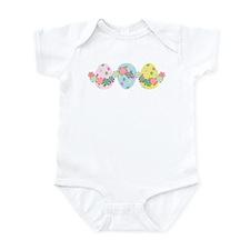 Easter Eggs 'N Garland Infant Bodysuit