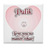 Puli Love U Tile Coaster