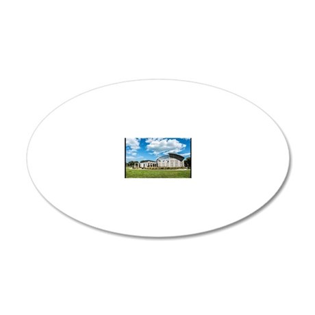 Calumet Heights, Chicago 20x12 Oval Wall Decal