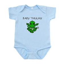 Baby 'thulhu, cute cthulhu Infant Bodysuit