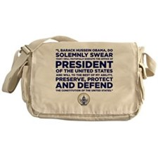 Presidential Oath Messenger Bag
