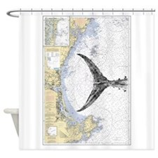 Tuna Tail On Ipswich Bay Shower Curtain