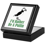 Rather Be A Puffin Keepsake Box