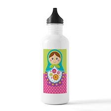 Adorable Russian Doll  Water Bottle