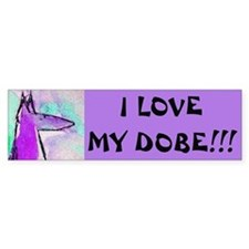 Dobe Love Bumper Bumper Sticker