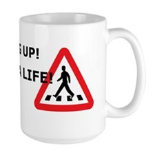 Hang up! Save a pedestrian! Mug