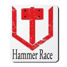 Hammer Race Mousepad