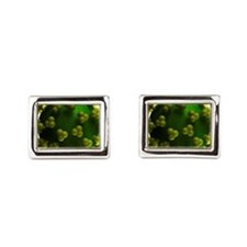 HIV particle, artwork Cufflinks