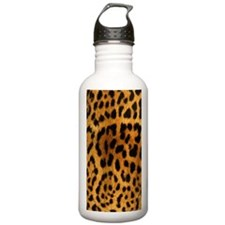Leopard phone case Water Bottle