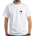 South Cackalacky White T-Shirt