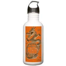 Good Luck Golden Drago Water Bottle