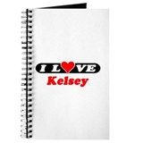 I Love Kelsey Journal