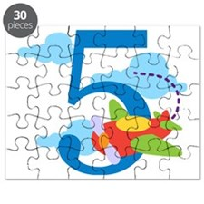 5th Birthday Airplane Puzzle