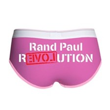Rand Paul Revolution Women's Boy Brief