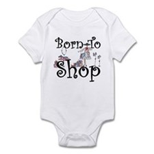 Born to Shop Infant Bodysuit