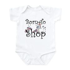 Born to Shop Infant Bodysuit