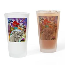 Musical Elephant Drinking Glass