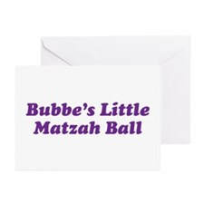 Little Matzah Ball Greeting Cards (Pk of 10)
