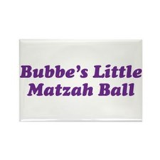 Little Matzah Ball Rectangle Magnet (100 pack)