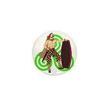 Celtic Warrior Mini Button