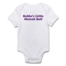 Little Matzah Ball Infant Bodysuit
